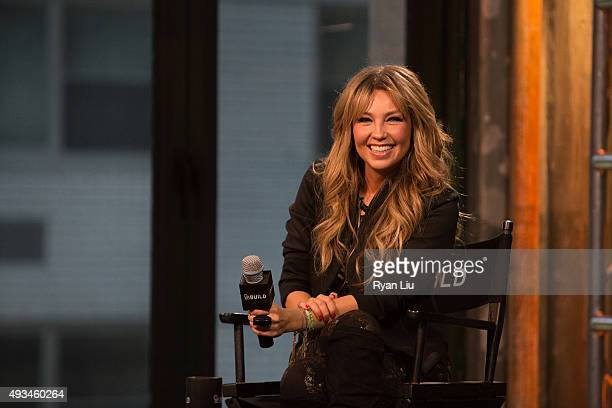 Actress Thalia speaks onstage at the AOL BUILD Presents Thalia at AOL Studios In New York on October 20 2015 in New York City