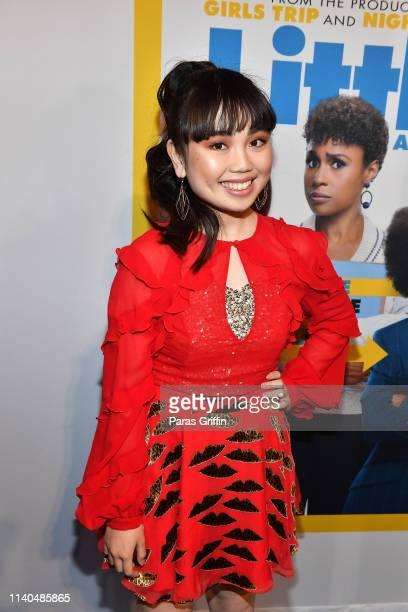 Actress Thalia Tran attends Little Atlanta red carpet screening at Regal Atlantic Station on April 04 2019 in Atlanta Georgia