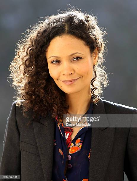 Actress Thandie Newton attends a photocall to promote One Billion Rising a global movement aiming to end violence towards women at ICA on February 5...