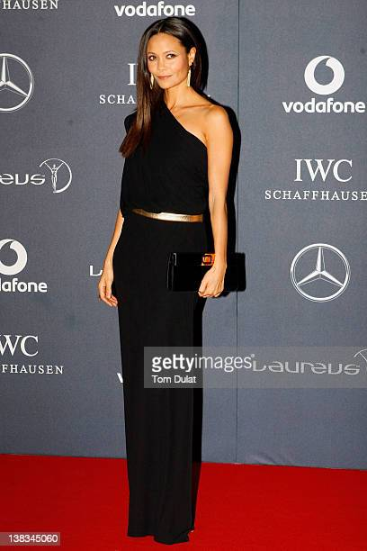 Actress Thandie Newton attends the 2012 Laureus World Sports Awards at Central Hall Westminster on February 6, 2012 in London, England.
