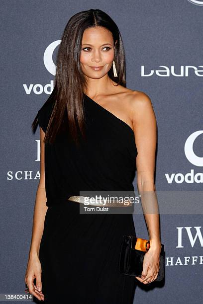 Actress Thandie Newton attends the 2012 Laureus World Sports Awards at Central Hall Westminster on February 6 2012 in London England