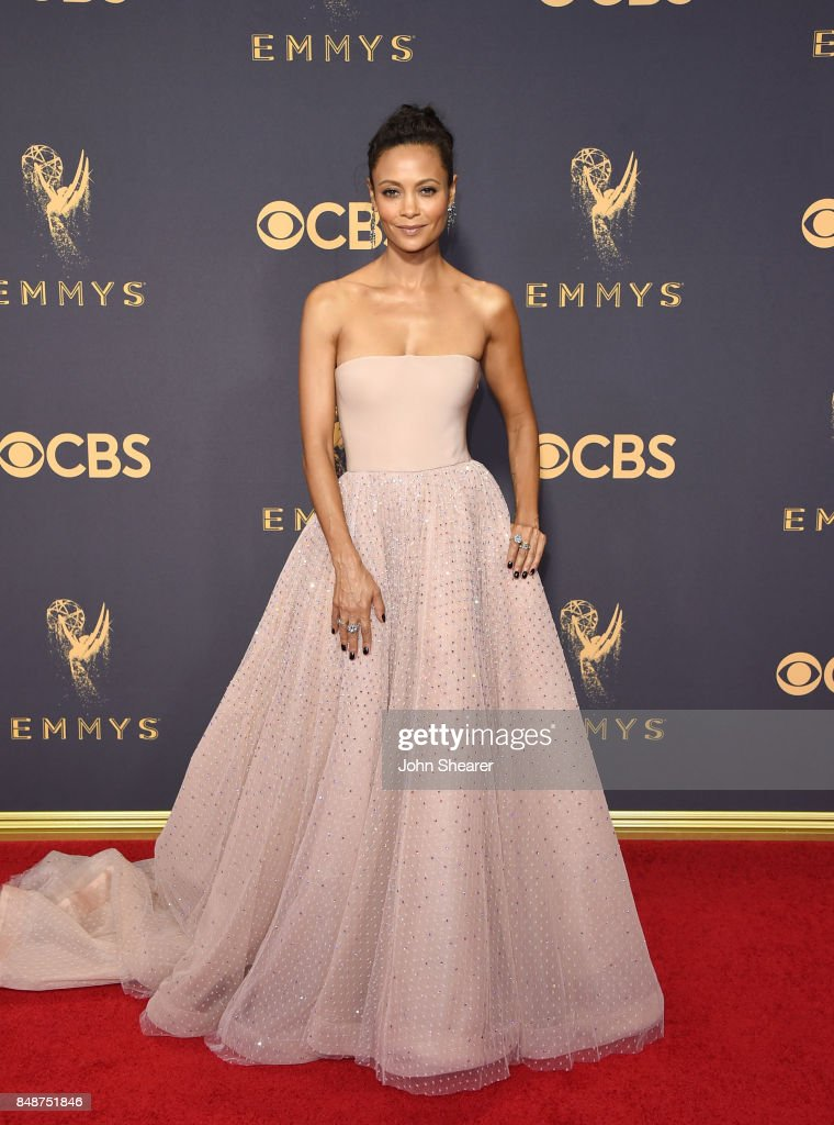 Actress Thandie Newton attends the 69th Annual Primetime Emmy Awards at Microsoft Theater on September 17, 2017 in Los Angeles, California.