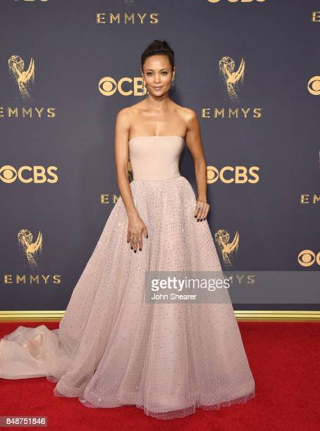 Actress Thandie Newton attends the 69th Annual Primetime Emmy Awards at Microsoft Theater on September 17 2017 in Los Angeles California
