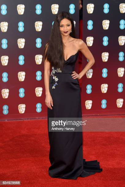 Actress Thandie Newton attends the 70th EE British Academy Film Awards at Royal Albert Hall on February 12 2017 in London England
