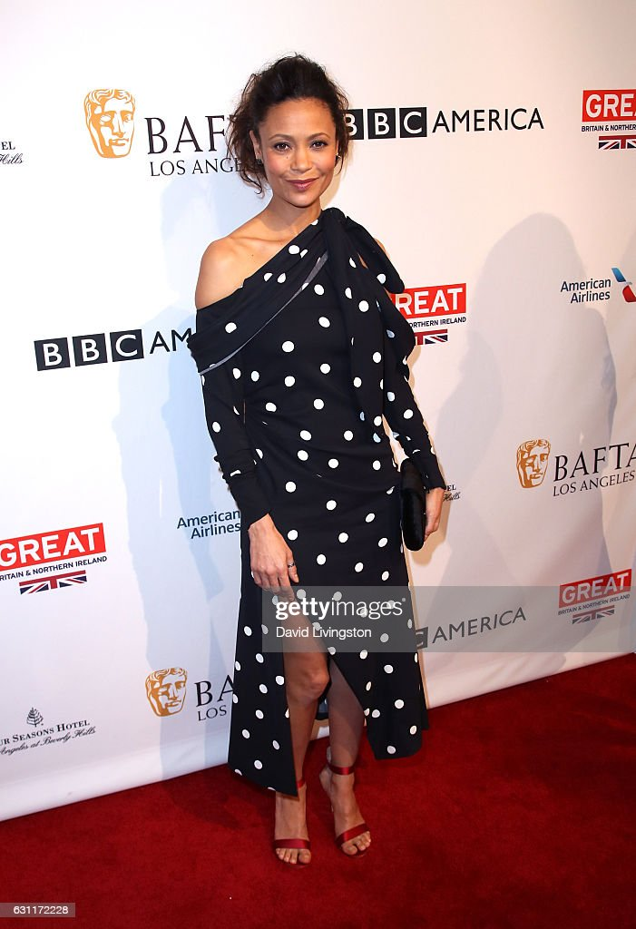 Actress Thandie Newton attends The BAFTA Tea Party at Four Seasons Hotel Los Angeles at Beverly Hills on January 7, 2017 in Los Angeles, California.
