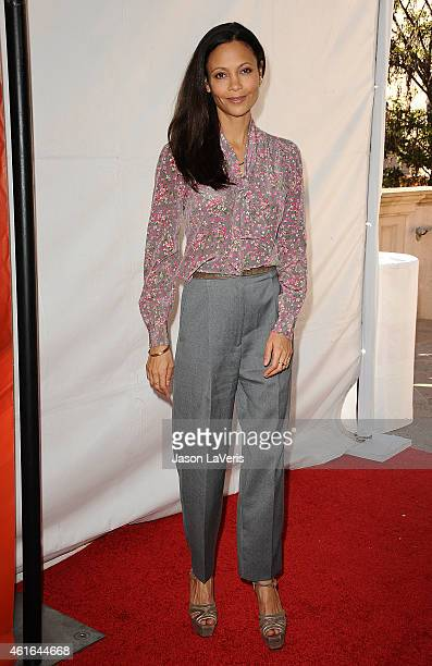Actress Thandie Newton attends the NBCUniversal 2015 press tour at The Langham Huntington Hotel and Spa on January 16 2015 in Pasadena California