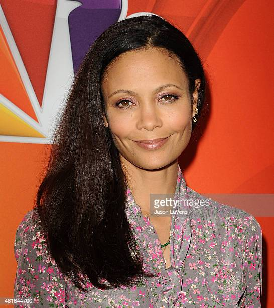Actress Thandie Newton attends the NBCUniversal 2015 press tour at The Langham Huntington Hotel and Spa on January 16, 2015 in Pasadena, California.