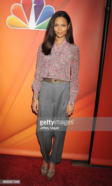 Actress Thandie Newton attends the NBCUniversal 2015 Press Tour at the Langham Huntington Hotel on January 16 2015 in Pasadena California