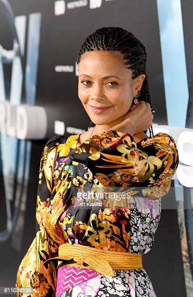 Actress Thandie Newton attends the premiere of HBO's Westworld at TCL Chinese Theatre on September 28 2016 in Hollywood California