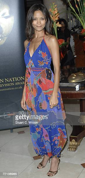 Actress Thandie Newton attends the Screen Nation Film Television Awards 2006 at the Hilton Park Lane October 10 2006 in London England