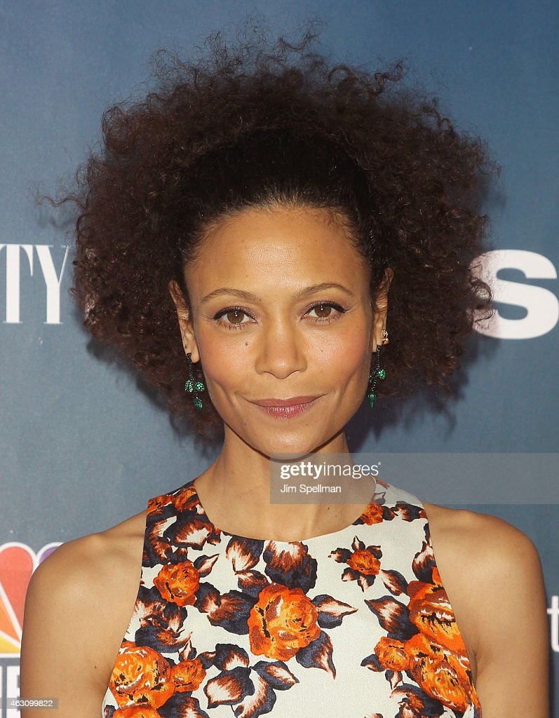Actress Thandie Newton attends 'The Slap' premiere party at The New Museum on February 9, 2015 in New York City.