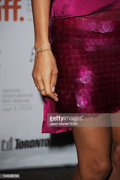 Actress Thandie Newton attends the Vanishing On 7th Street Premiere at Ryerson Theatre during the Toronto International Film Festival on September 12...