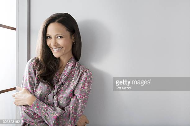 Actress Thandie Newton is photographed for TV Guide Magazine on January 16 2015 in Pasadena California
