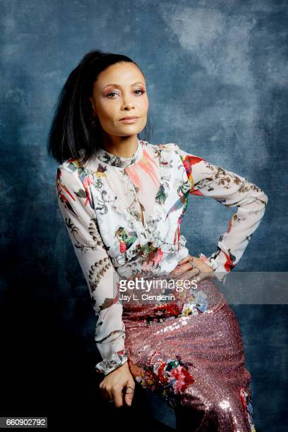 Actress Thandie Newton of HBO's 'Westworld' is photographed for Los Angeles Times on March 25 2017 in Los Angeles California PUBLISHED IMAGE CREDIT...