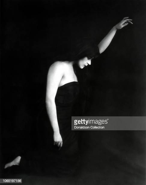 Actress Theda Bara in a scene from the movieSin