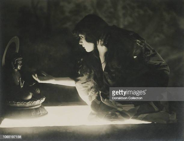 Actress Theda Bara in a scene from the movieThe Soul of Buddha