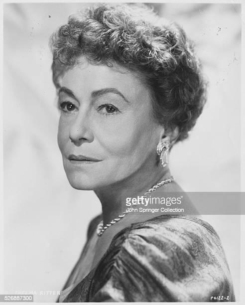 Actress Thelma Ritter