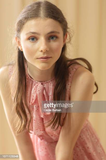Actress Thomasin McKenzie is photographed for Self Assignment on May 2018 in Cannes France