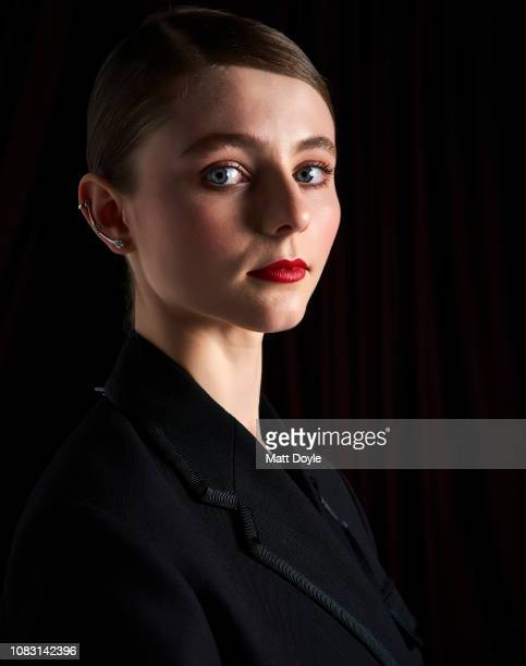 Actress Thomasin McKenzie poses for a portrait at The National Board of Review Annual Awards Gala on January 8 2019 at Cipriani 42nd Street in New...