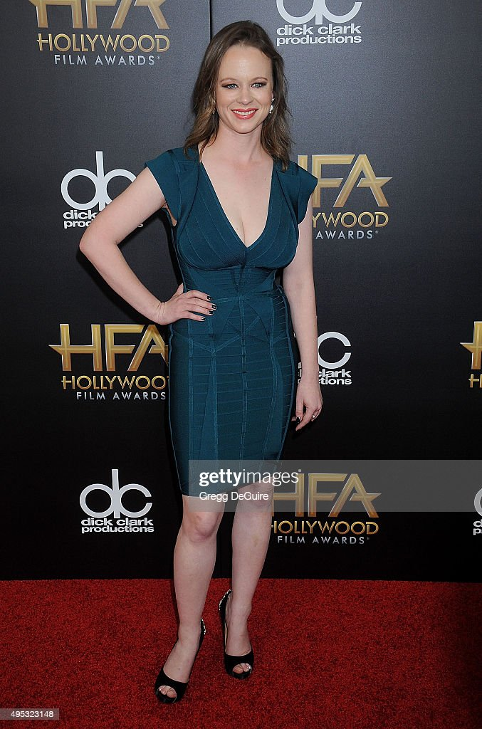 Actress Thora Birch arrives at the 19th Annual Hollywood Film Awards at The Beverly Hilton Hotel on November 1, 2015 in Beverly Hills, California.