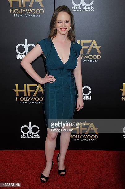 Actress Thora Birch arrives at the 19th Annual Hollywood Film Awards at The Beverly Hilton Hotel on November 1 2015 in Beverly Hills California