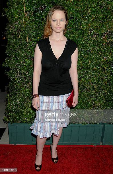 Actress Thora Birch arrives at the Los Angeles Premiere of Capitalism A Love Story at the AMPAS Samuel Goldwyn Theater on September 15 2009 in...