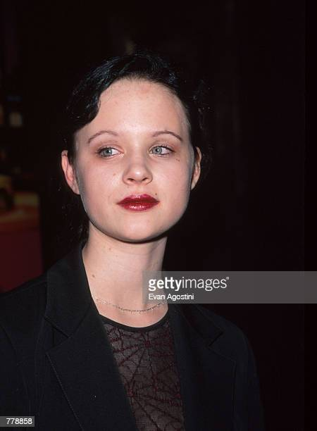 Actress Thora Birch attends Interview Magazine's 30th Anniversary party October 28 1999 in New York City Birch started her career with commercials...