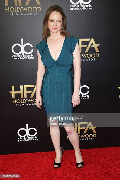 Actress Thora Birch attends the 19th Annual Hollywood Film Awards at The Beverly Hilton Hotel on November 1 2015 in Beverly Hills California