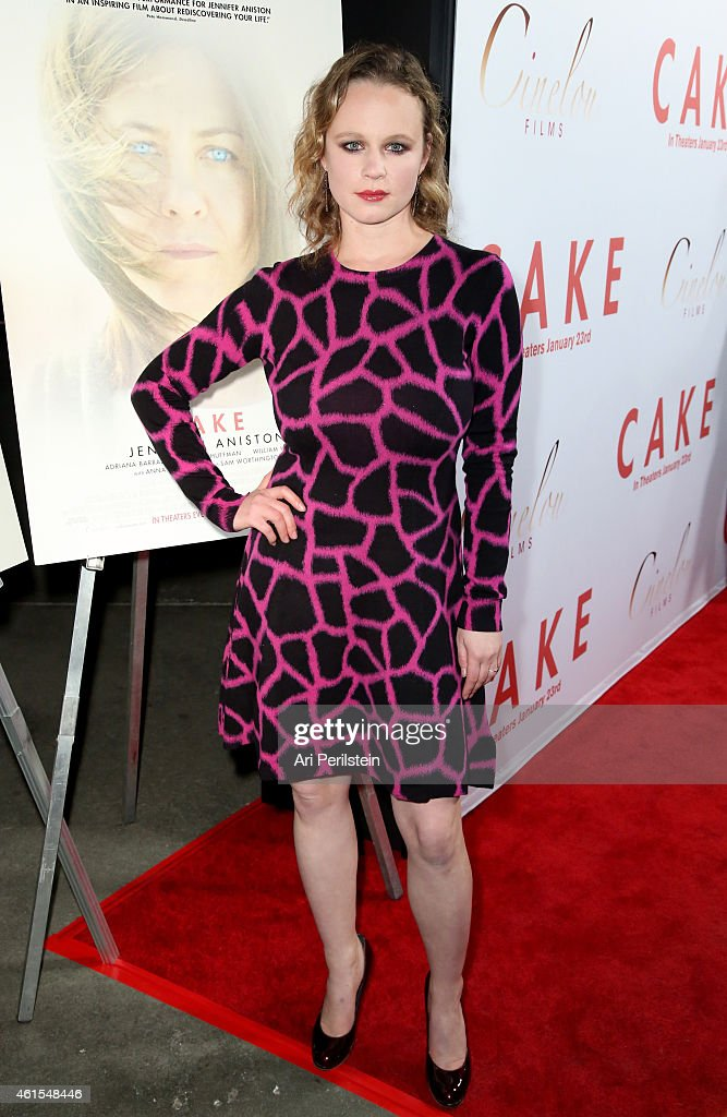 """Los Angeles Premiere Of """"CAKE"""" - Red Carpet"""