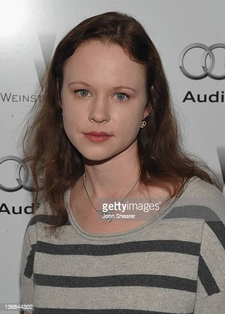 Actress Thora Birch attends the party hosted by the Weinstein Company and Audi to Celebrate Awards Season at Chateau Marmont on January 11 2012 in...