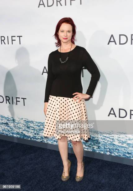 Actress Thora Birch attends the premiere of STX Films' 'Adrift' at Regal LA Live Stadium 14 on May 23 2018 in Los Angeles California