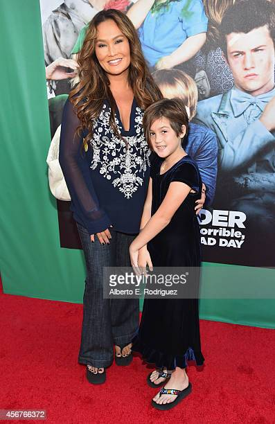Actress Tia Carrere and Bianca Wakelin attend The World Premiere of Disney's Alexander and the Terrible Horrible No Good Very Bad Day at the El...