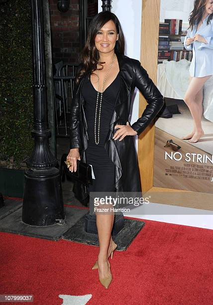 Actress Tia Carrere arrives at Paramount Pictures' 'No Strings Attached' premiere at Regency Village Theater on January 11 2011 in Westwood California