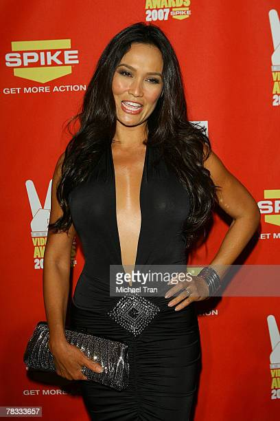 Actress Tia Carrere arrives at Spike TV's 5th Annual Video Game Awards held at Mandalay Bay Events Center on December 7 2007 in Las Vegas Nevada