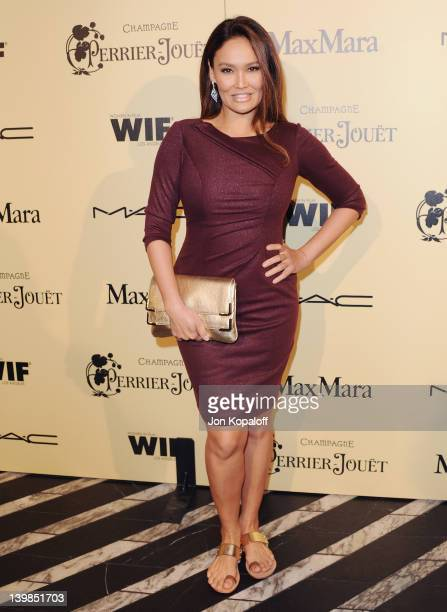 Actress Tia Carrere arrives at the 5th Annual Women In Film Pre-Oscar Cocktail Party at Cecconi's Restaurant on February 24, 2012 in Los Angeles,...