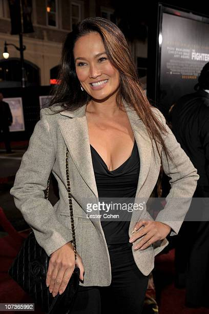 Actress Tia Carrere arrives at 'The Fighter' Los Angeles premiere held at the Grauman's Chinese Theatre on December 6 2010 in Hollywood California