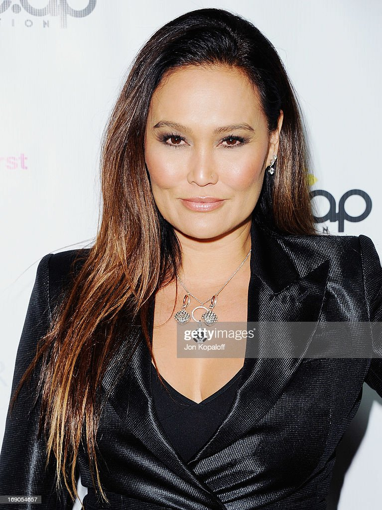 Actress Tia Carrere arrives at the Time For Hope Fundraiser Gala Benefiting This Time Foundation And The Apl.de.ap Foundation International at Regent Beverly Wilshire Hotel on May 18, 2013 in Beverly Hills, California.
