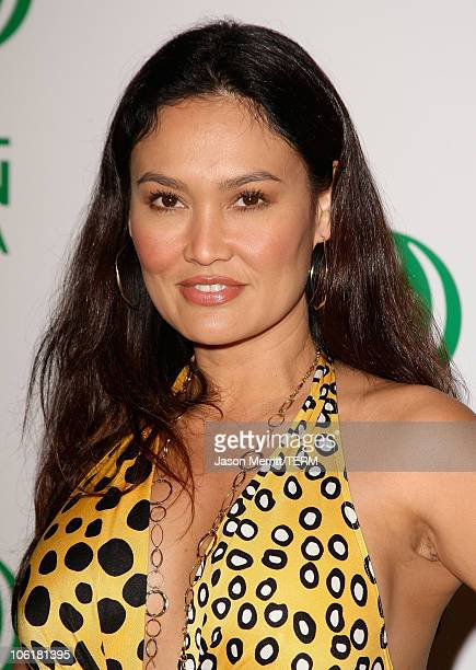 Actress Tia Carrere attends Global Green USA's 5th Annual Pre Oscar Party at Avalon Hollywood on February 20 2008 in Los Angeles California
