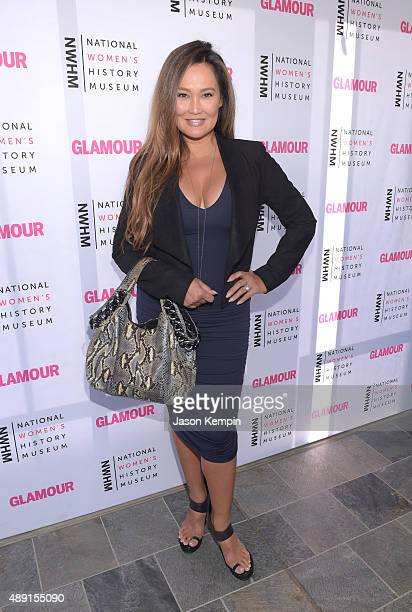Actress Tia Carrere attends the 4th Annual Women Making History Brunch presented by the National Women's History Museum and Glamour Magazine at...