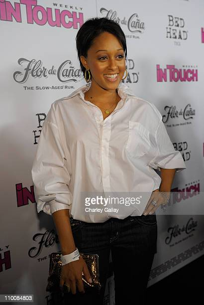 Actress Tia Mowry arrives at In Touch Weekly's ICONS IDOLS CELEBRATION with performances by Good Charlotte Leona Lewis and The Veronicas and music...