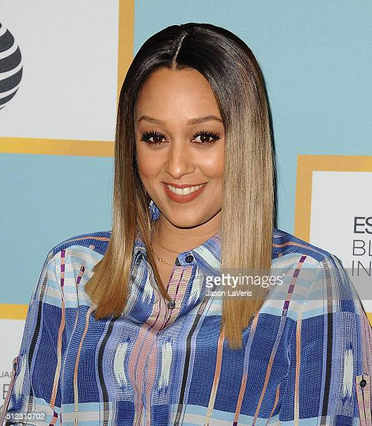 Actress Tia Mowry attends the Essence 9th annual Black Women In Hollywood event at the Beverly Wilshire Four Seasons Hotel on February 25 2016 in...