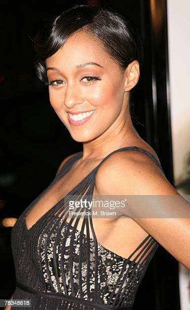 Actress Tia Mowry attends the Warner Bros' film premiere of 'PS I Love You' at Grauman's Chinese Theatre on December 9 2007 in Hollywood California