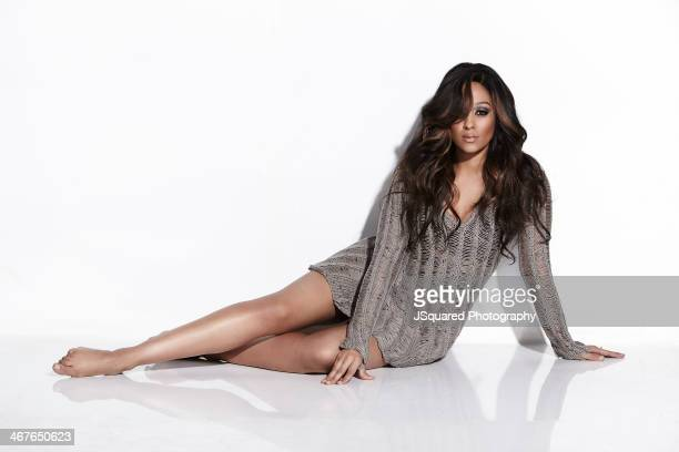 Actress Tia Mowry is photographed for Self Assignment on November 25 2013 in Los Angeles California