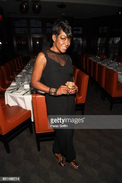 Actress Tichina Arnold at Survivor's Remorse x Upscale Magazine Champions Table Private Dinner at American Cut on August 14 2017 in Atlanta Georgia