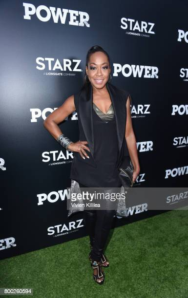 Actress Tichina Arnold attends STARZ Power Season 4 LA Screening And Party at The London West Hollywood on June 23 2017 in West Hollywood California