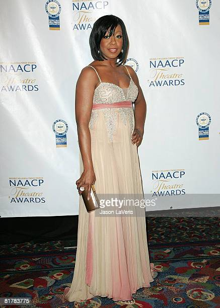Actress Tichina Arnold attends the 18th Annual NAACP Theater Awards at the Kodak Theater on June 30 2008 in Hollywood California