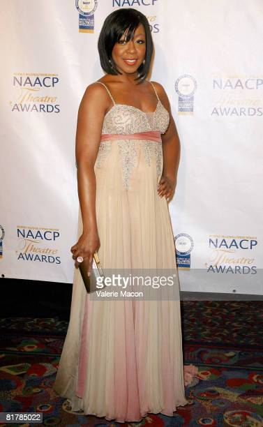 Actress Tichina Arnold attends the 18th Annual NAACP Theatre Awards at the Renaissance Hotel on June 30 2008 in Los Angeles California