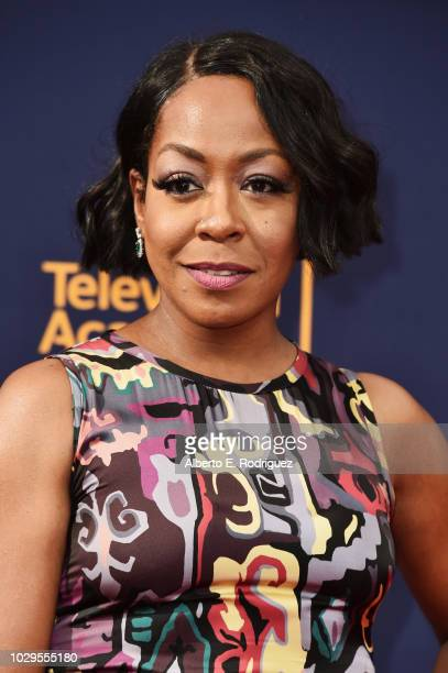 Actress Tichina Arnold attends the 2018 Creative Arts Emmy Awards at Microsoft Theater on September 8 2018 in Los Angeles California