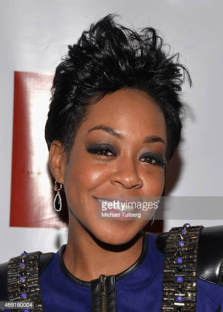 Actress Tichina Arnold attends the 24th Annual NAACP Theatre Awards at Saban Theatre on November 17 2014 in Beverly Hills California