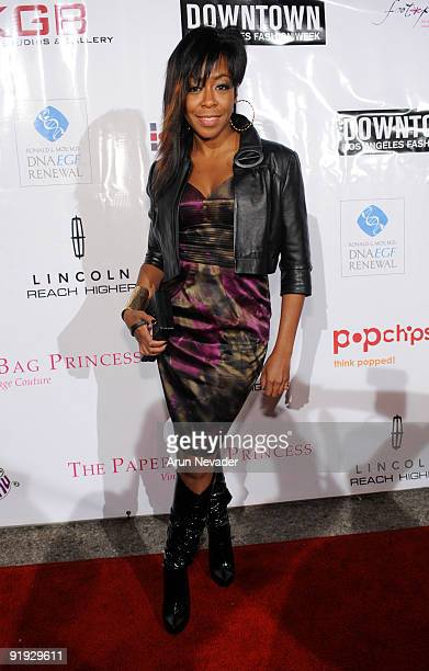 Actress Tichina Arnold attends the Downtown LA Fashion Week Spring 2010 Vintage Valentino Benefit For MOCA at The Geffen Contemporary at MOCA on...